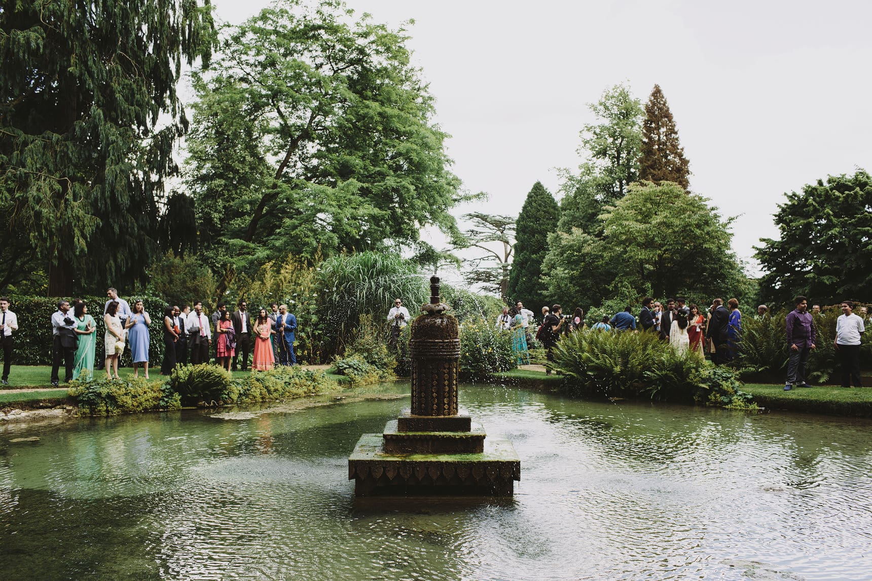 unique asian wedding sezincote house