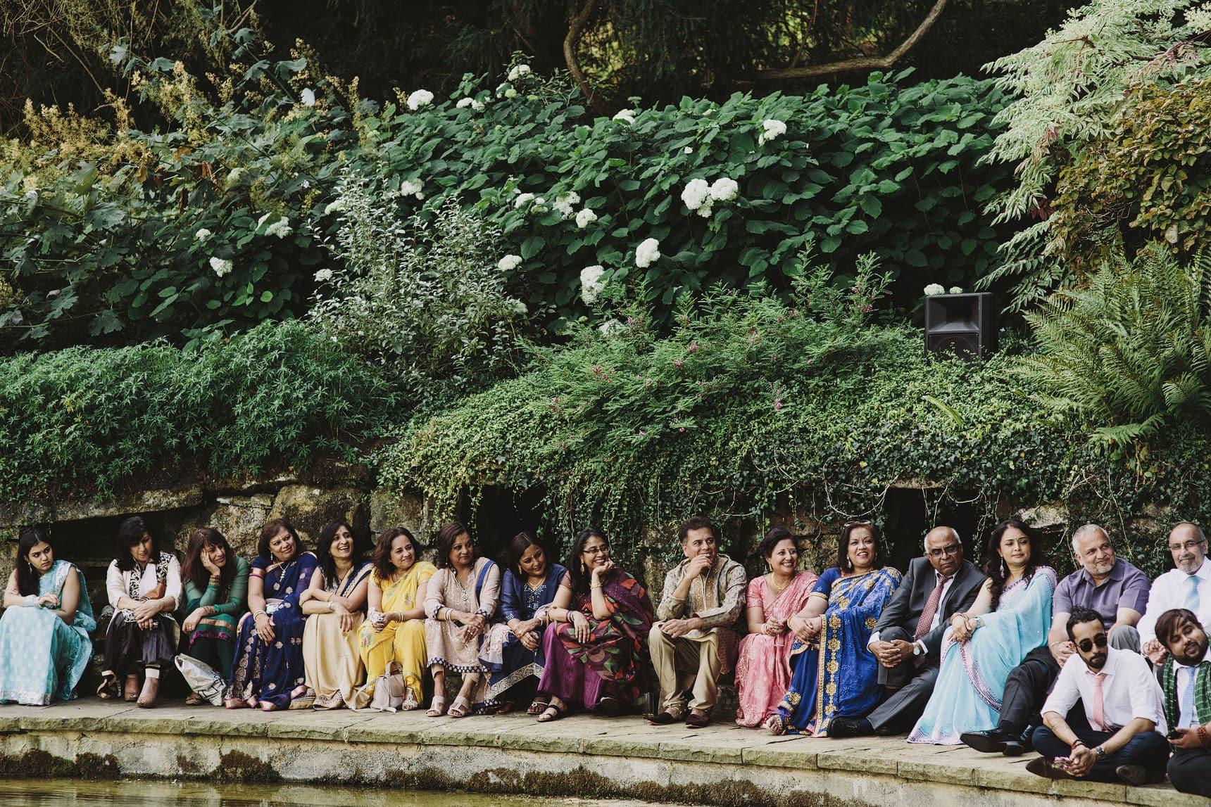 unique asian wedding sezincote house estate