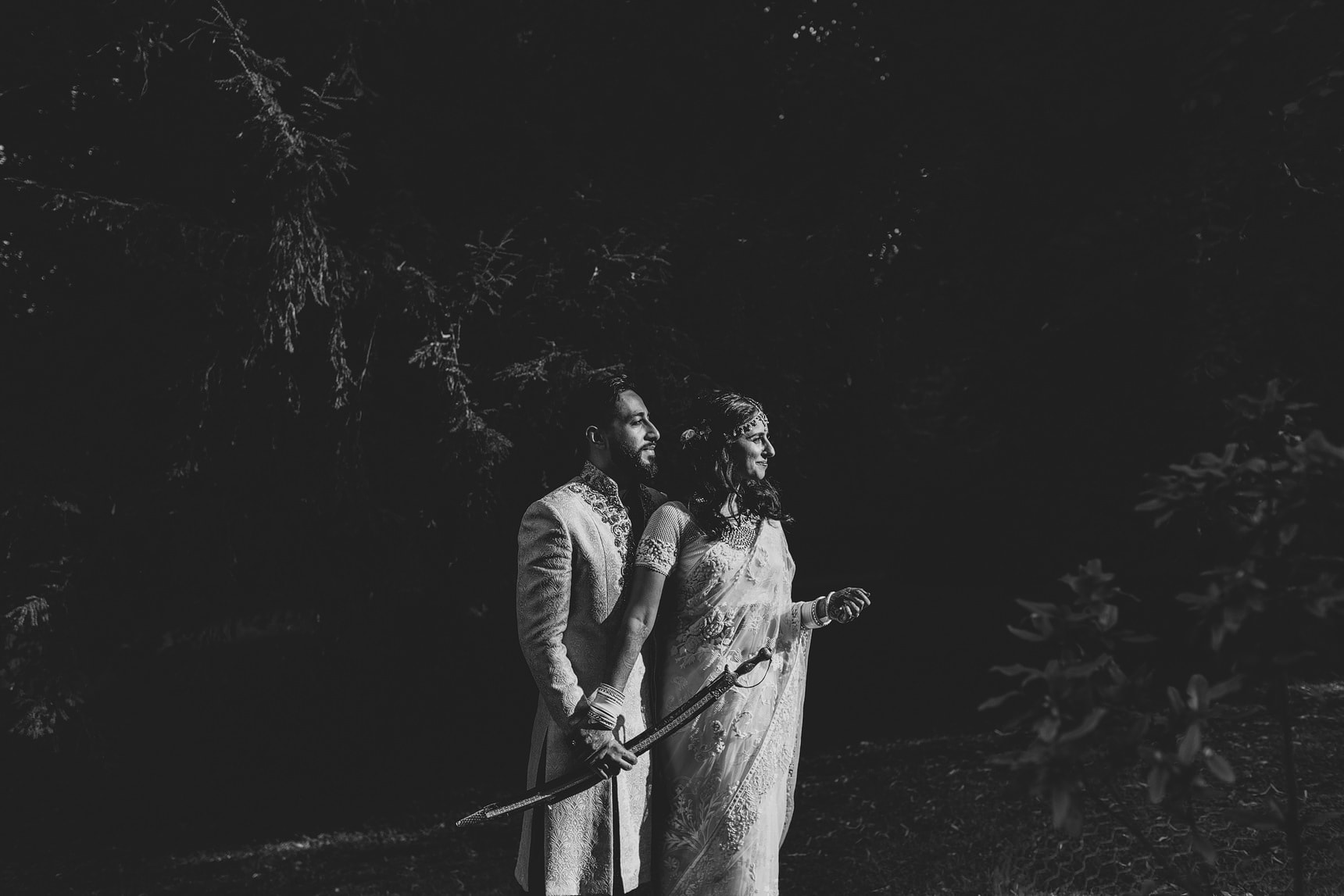 unique asian wedding sezincote estate