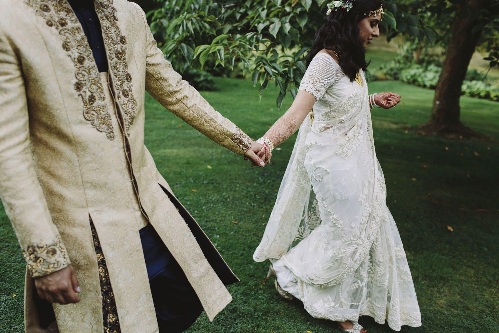 unique asian wedding portraits