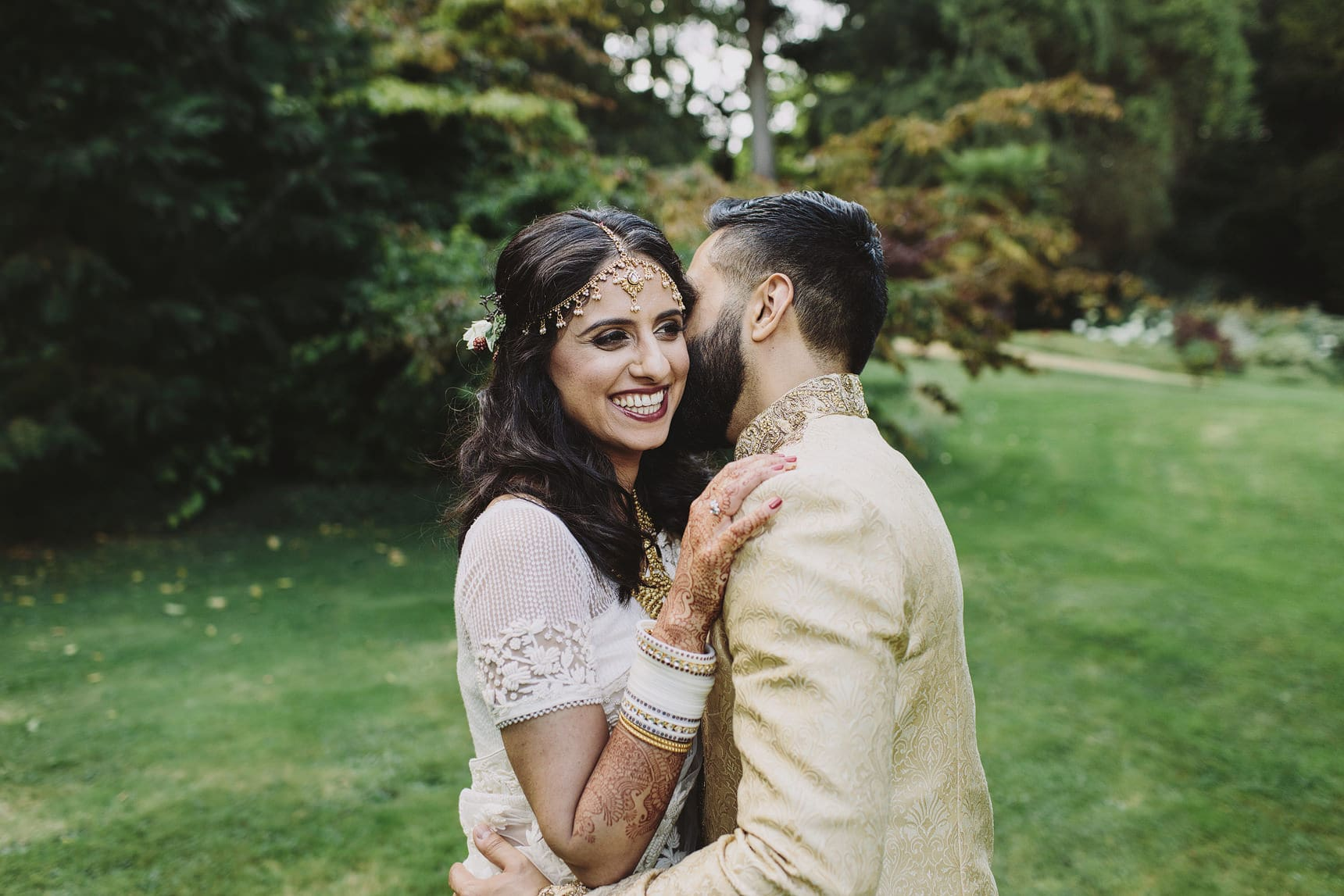 unique asian wedding portraits