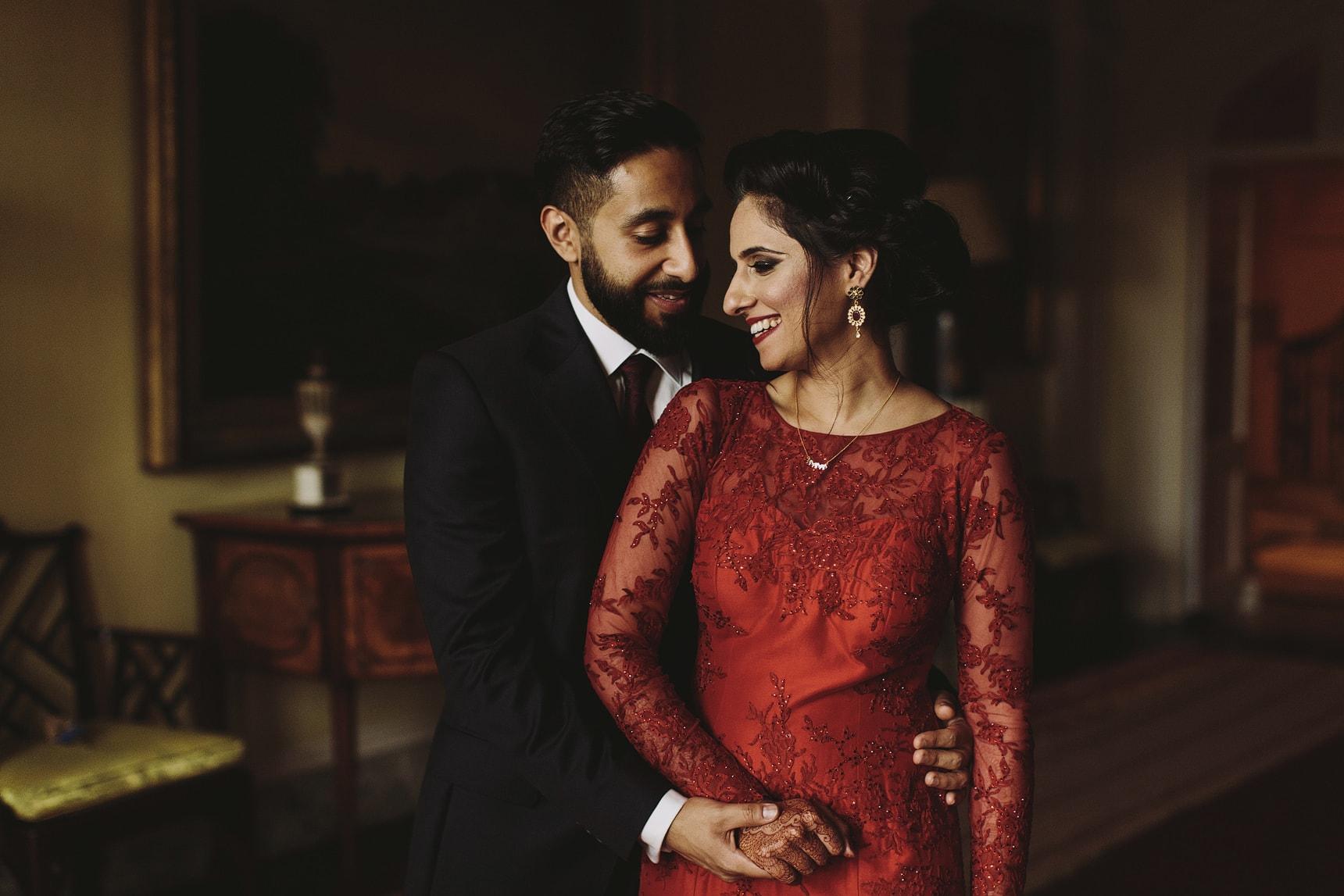red wedding dress 1