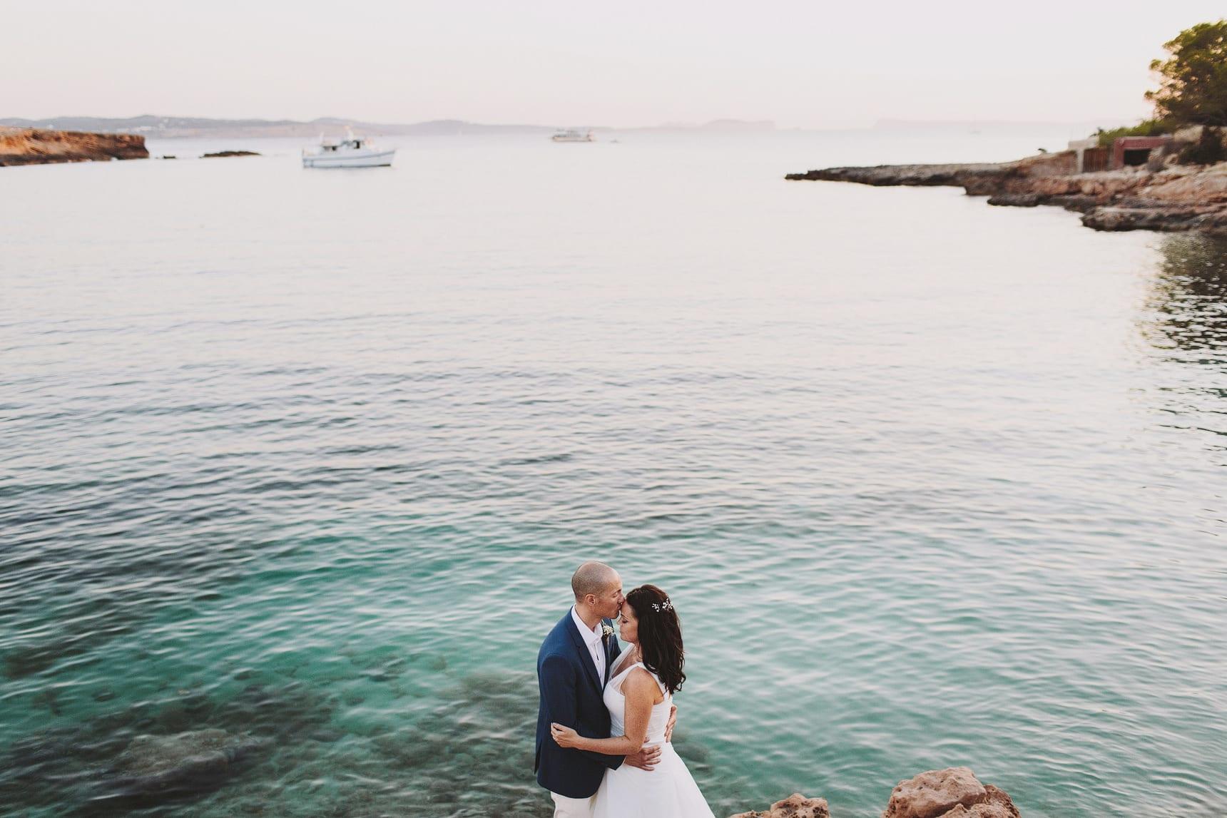 oceanfront wedding photos