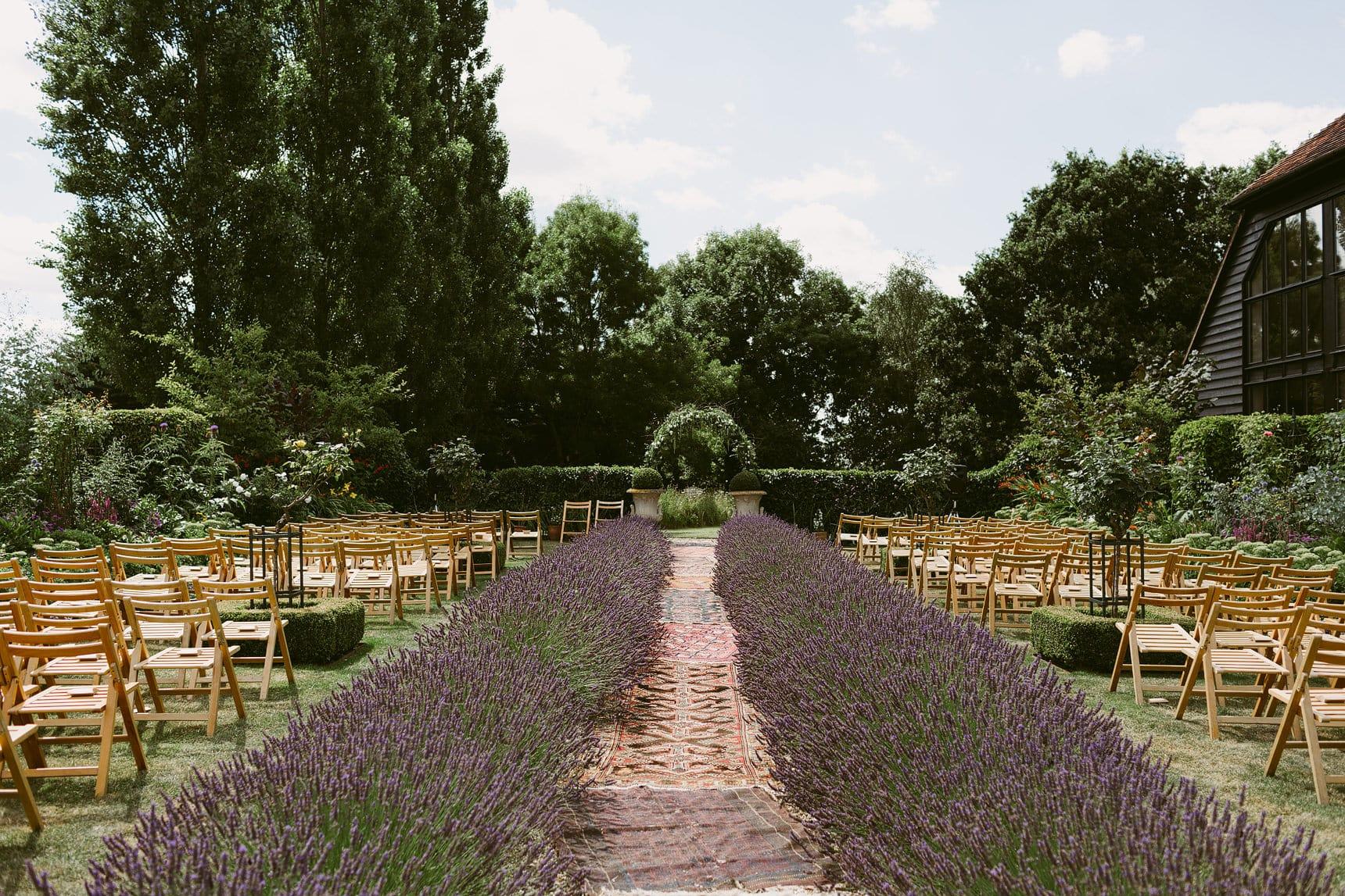 garden tipi wedding