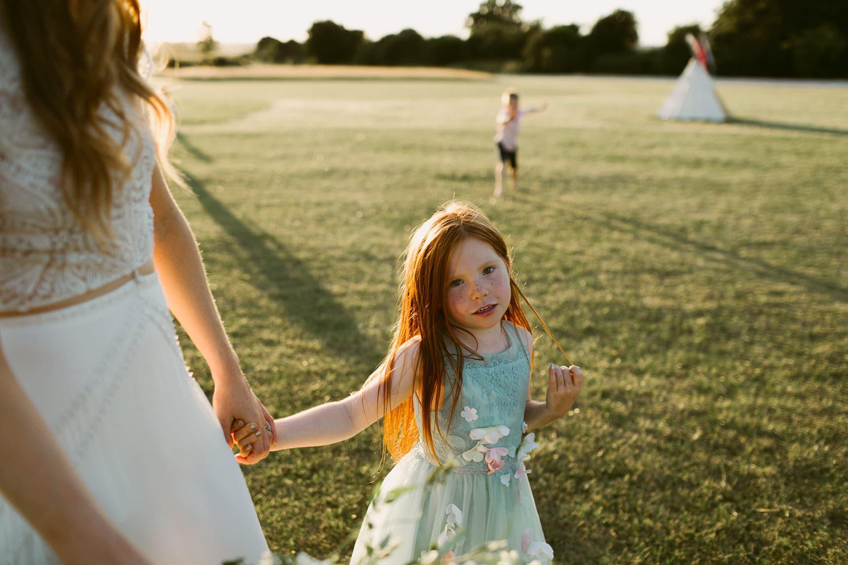 tipi garden wedding