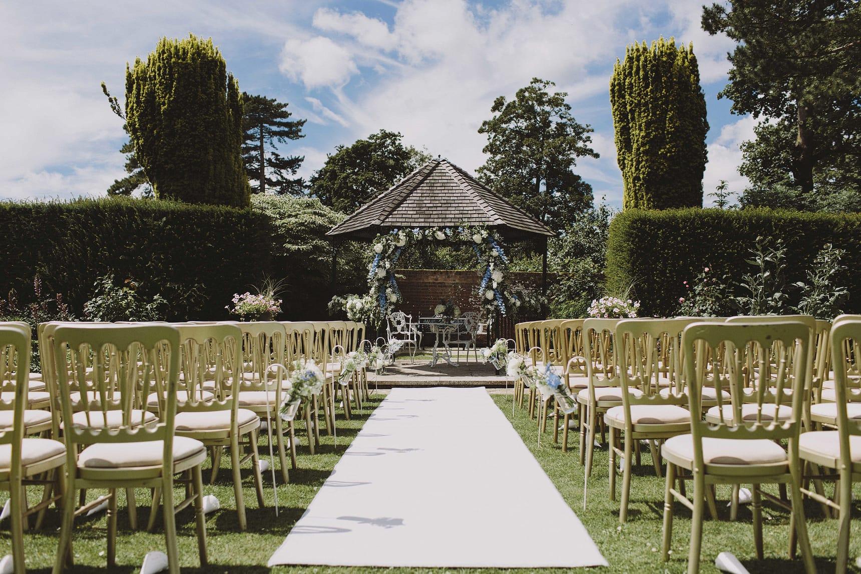 wedding at swarling manor