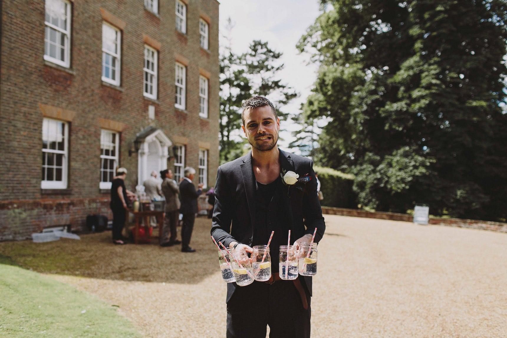 swarling manor petham wedding