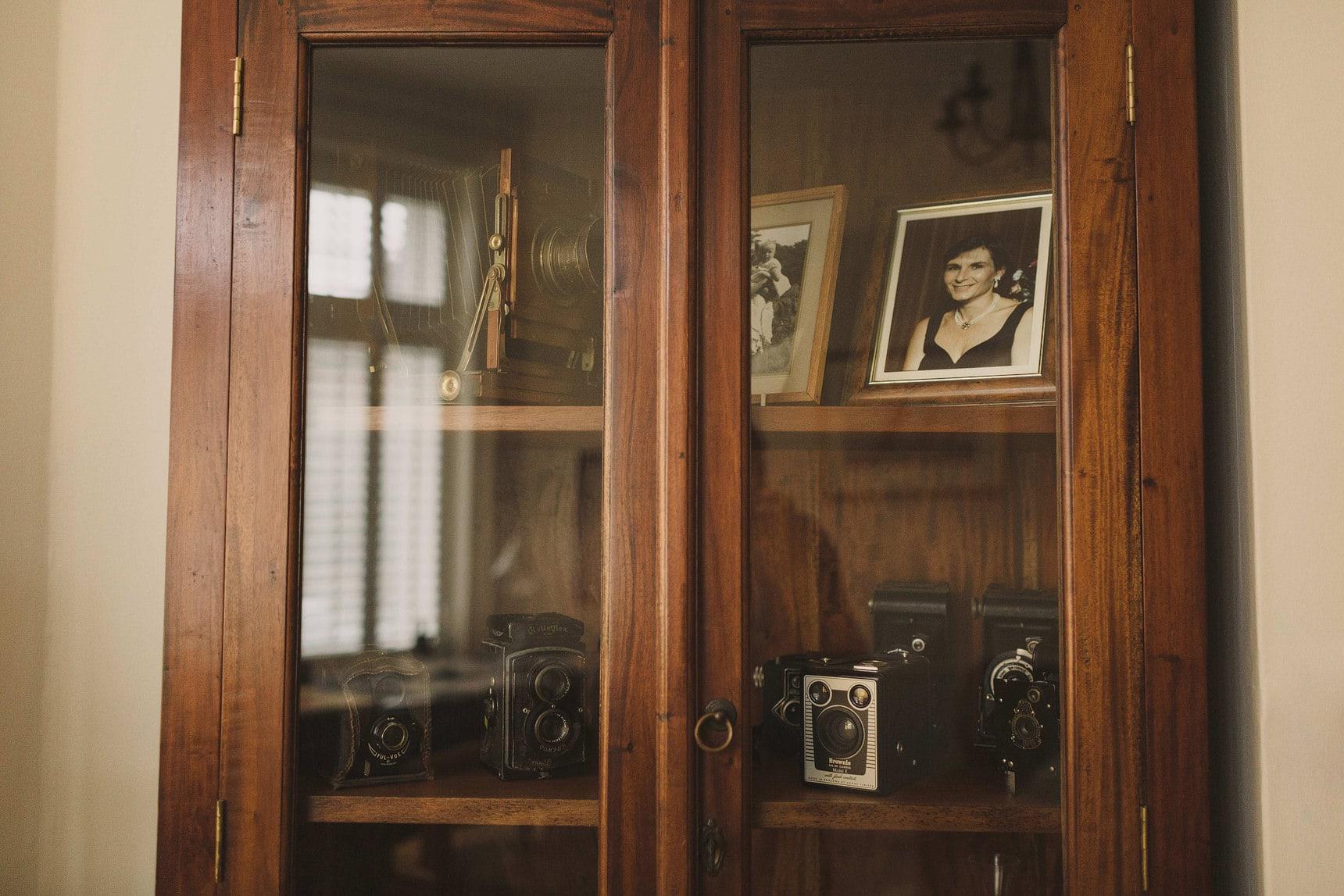 film camera cabinet