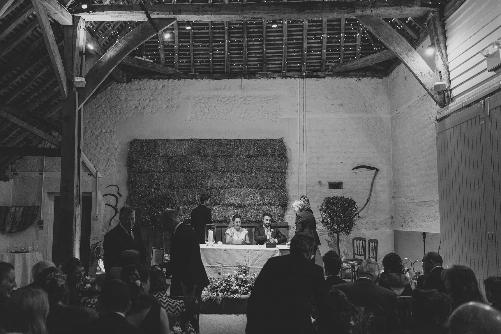documentary photos during wedding at pangdean barn in sussex
