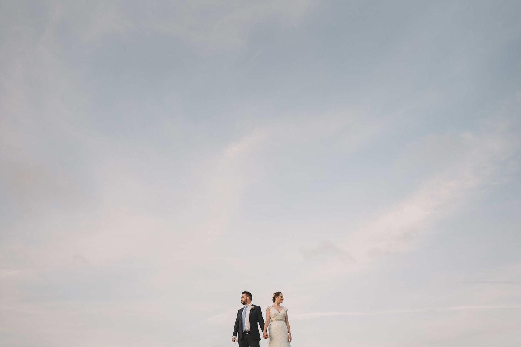 pangdean barn wedding portraits in brighton