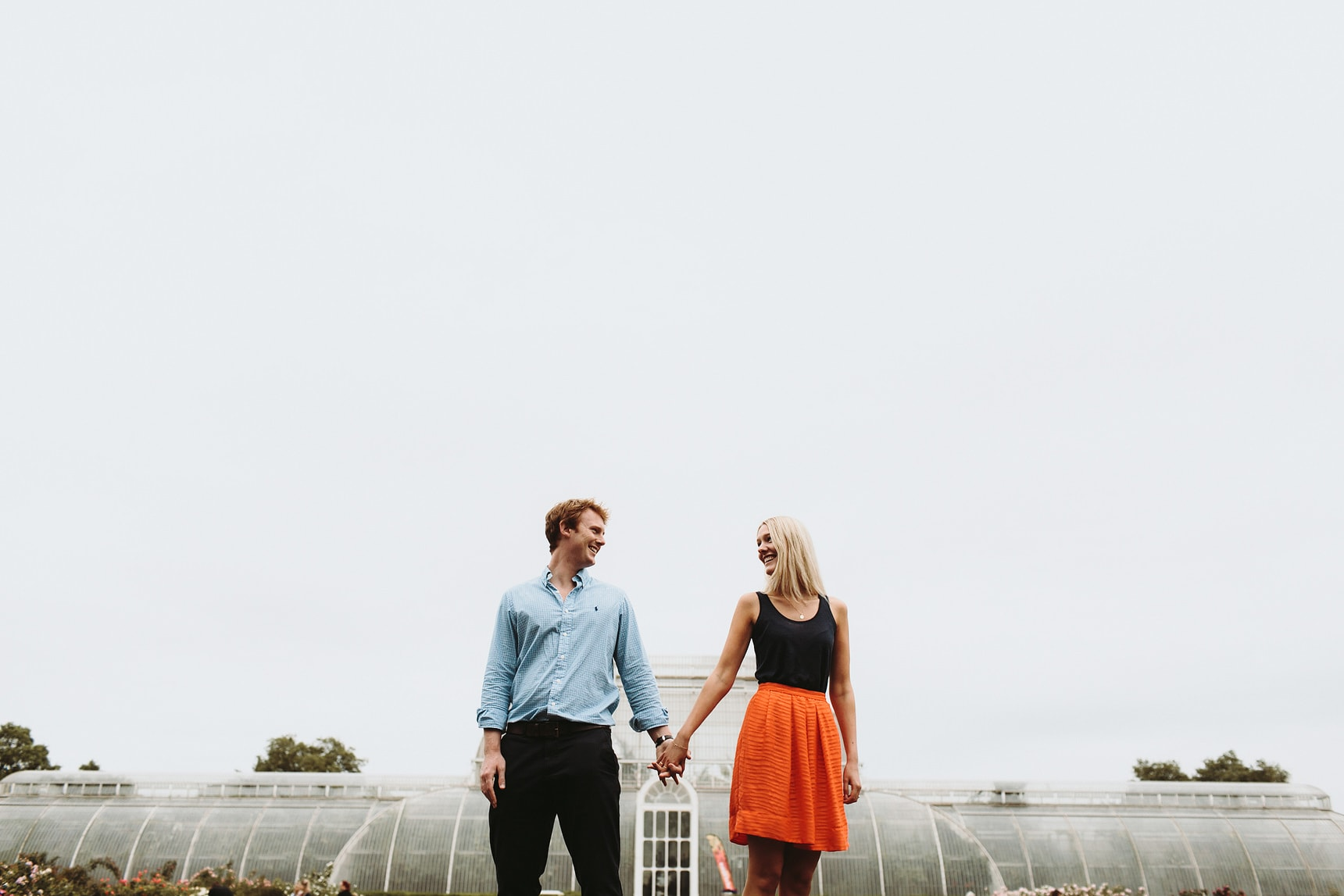 kew garden pre wedding shoot
