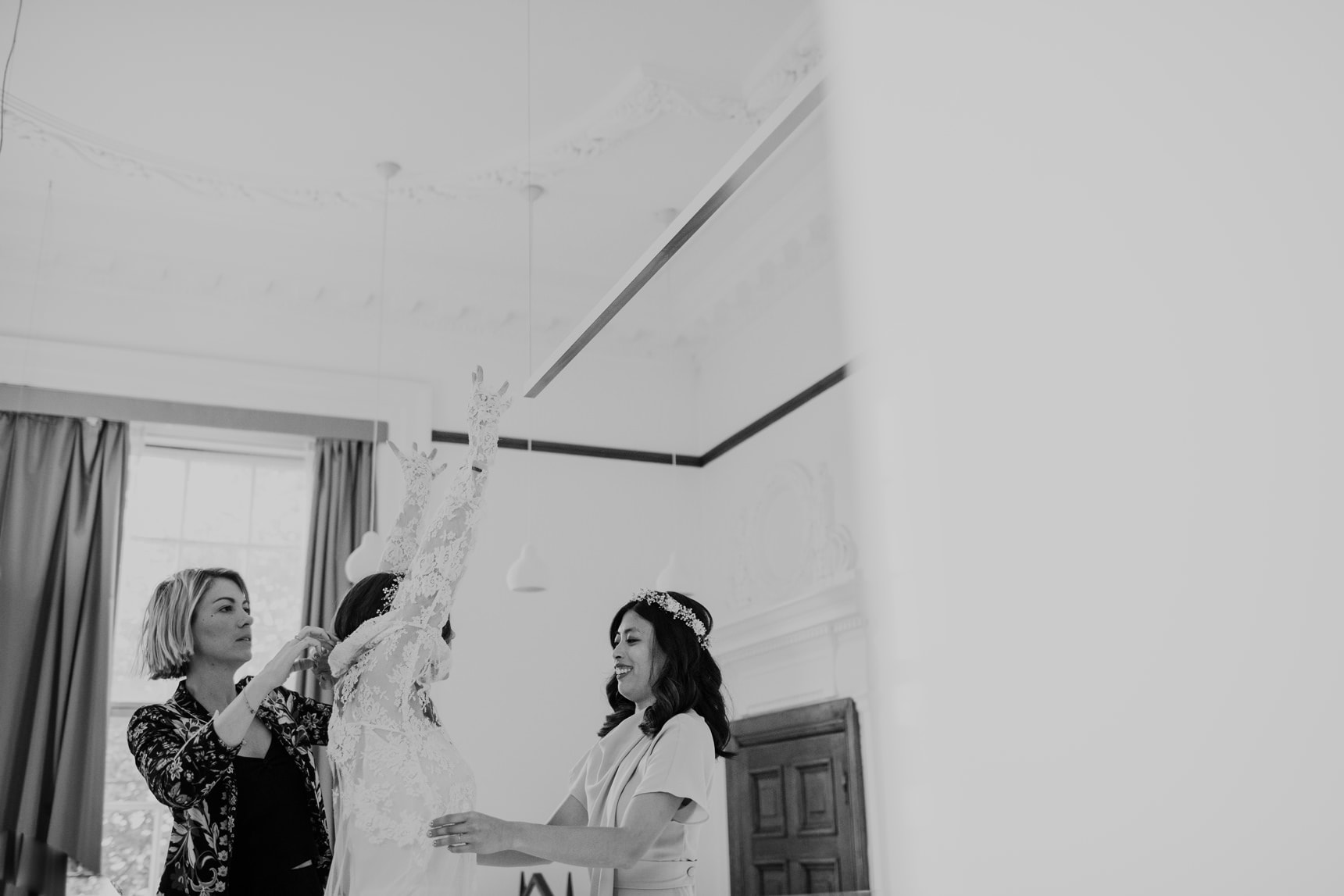 town hall hotel wedding photographer