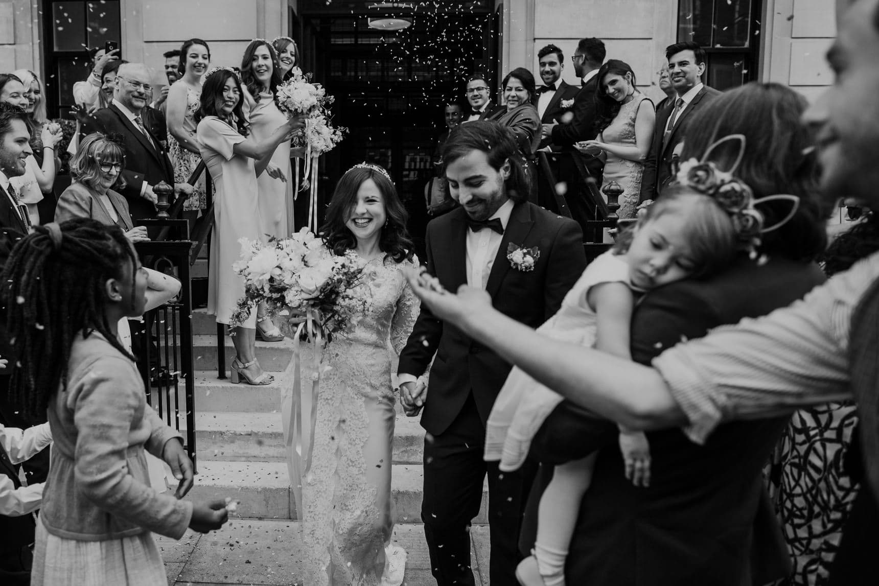 town hall wedding photographer