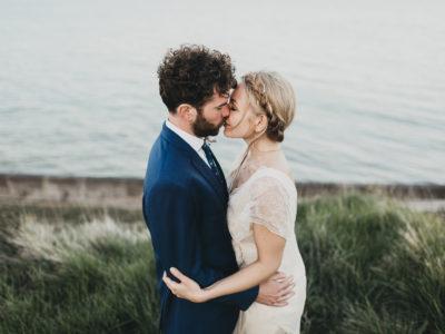 cliff edge wedding photos