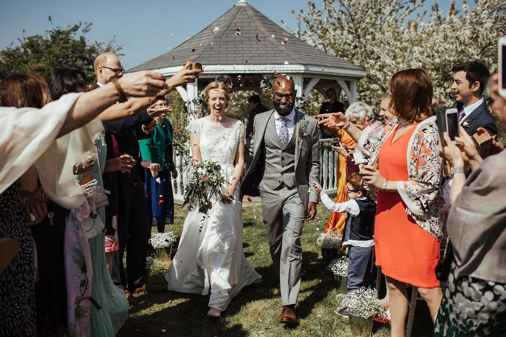 outdoor wedding osea island