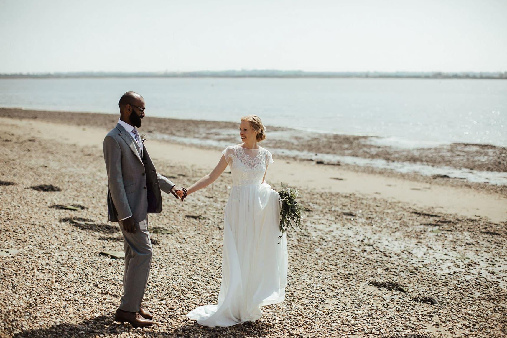 osea island essex wedding