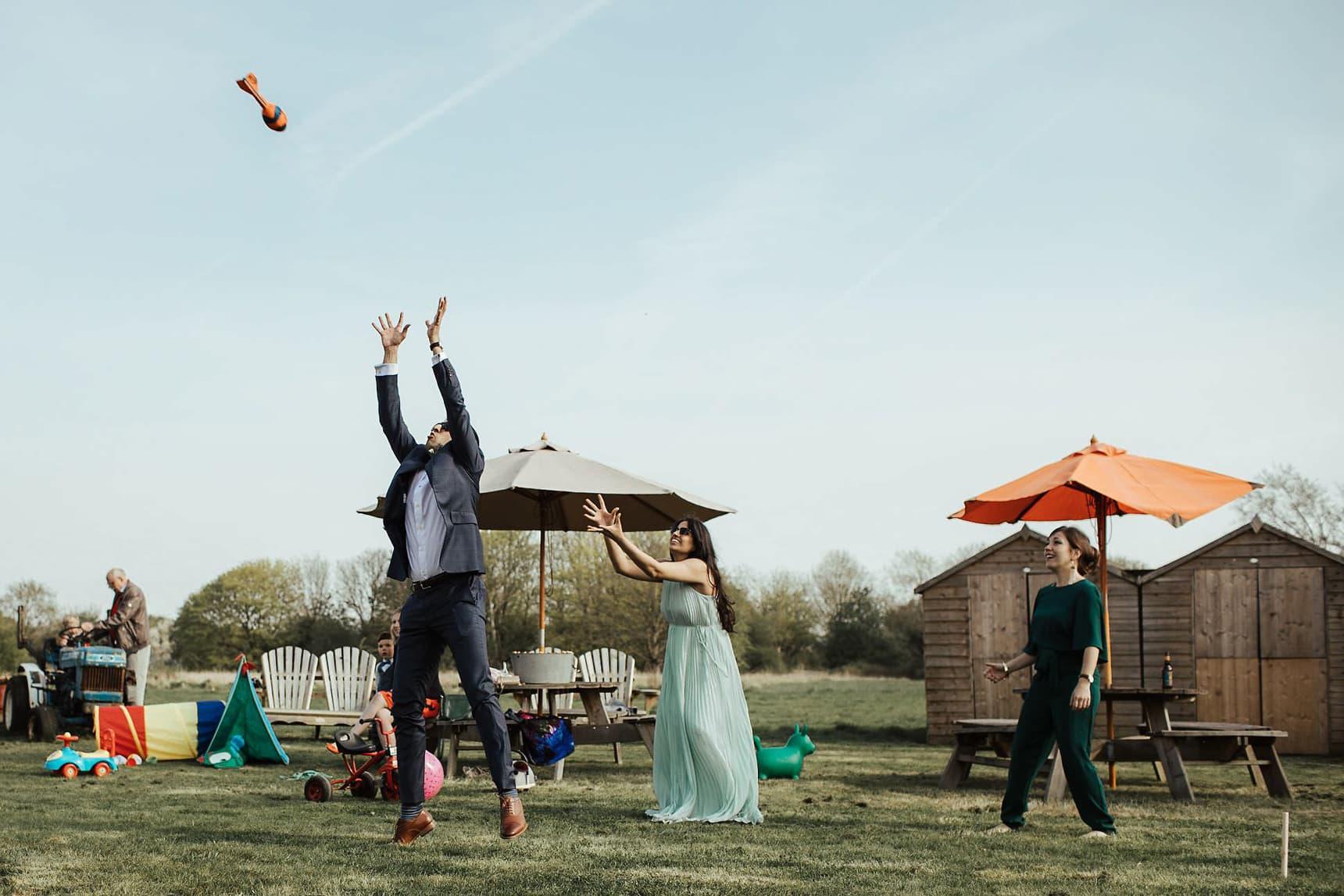 wedding at osea island