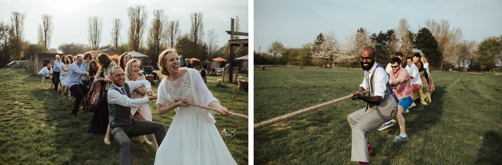 wedding fun and games
