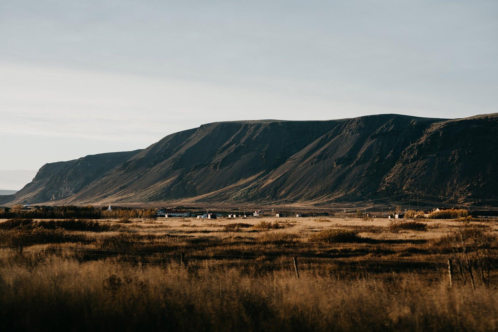 landscapes in iceland