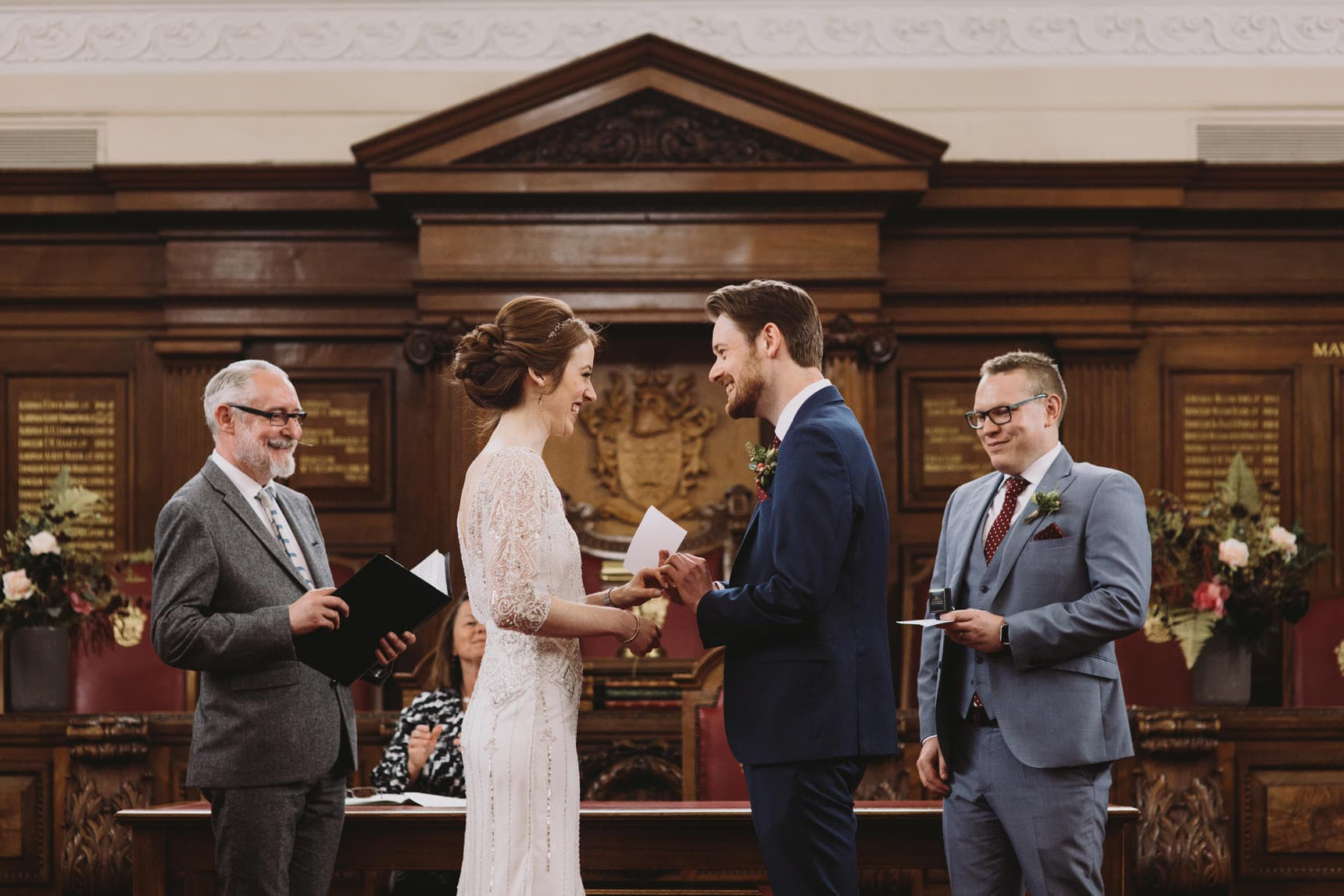 islington town hall london wedding photos