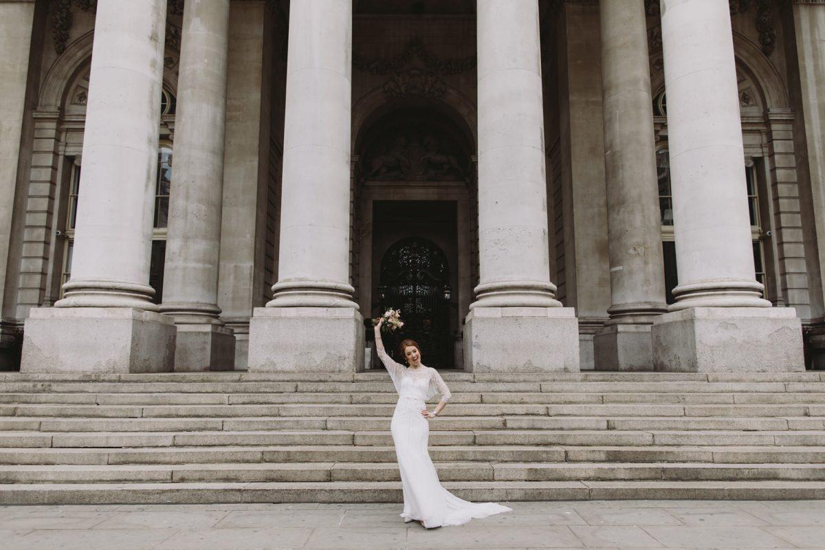 wedding photos royal exchange london