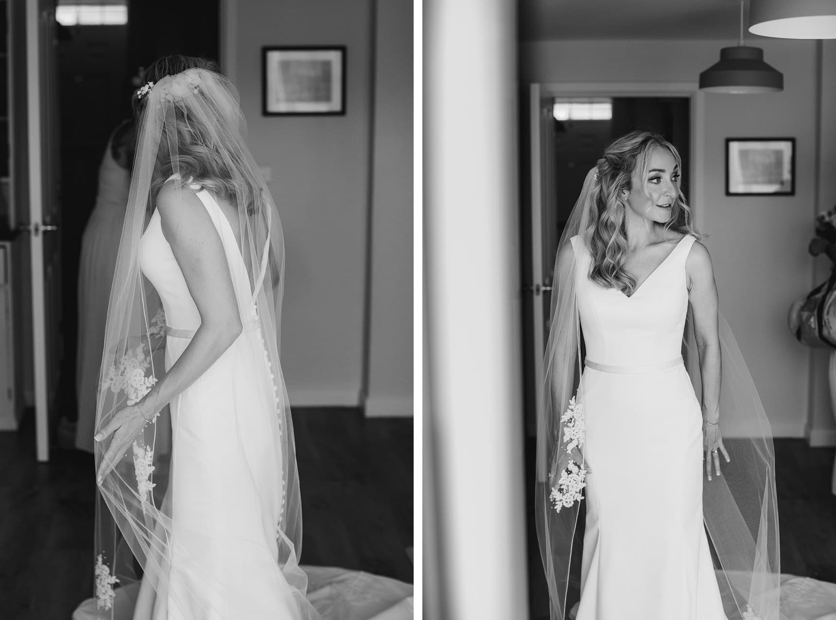 getting ready wedding photography