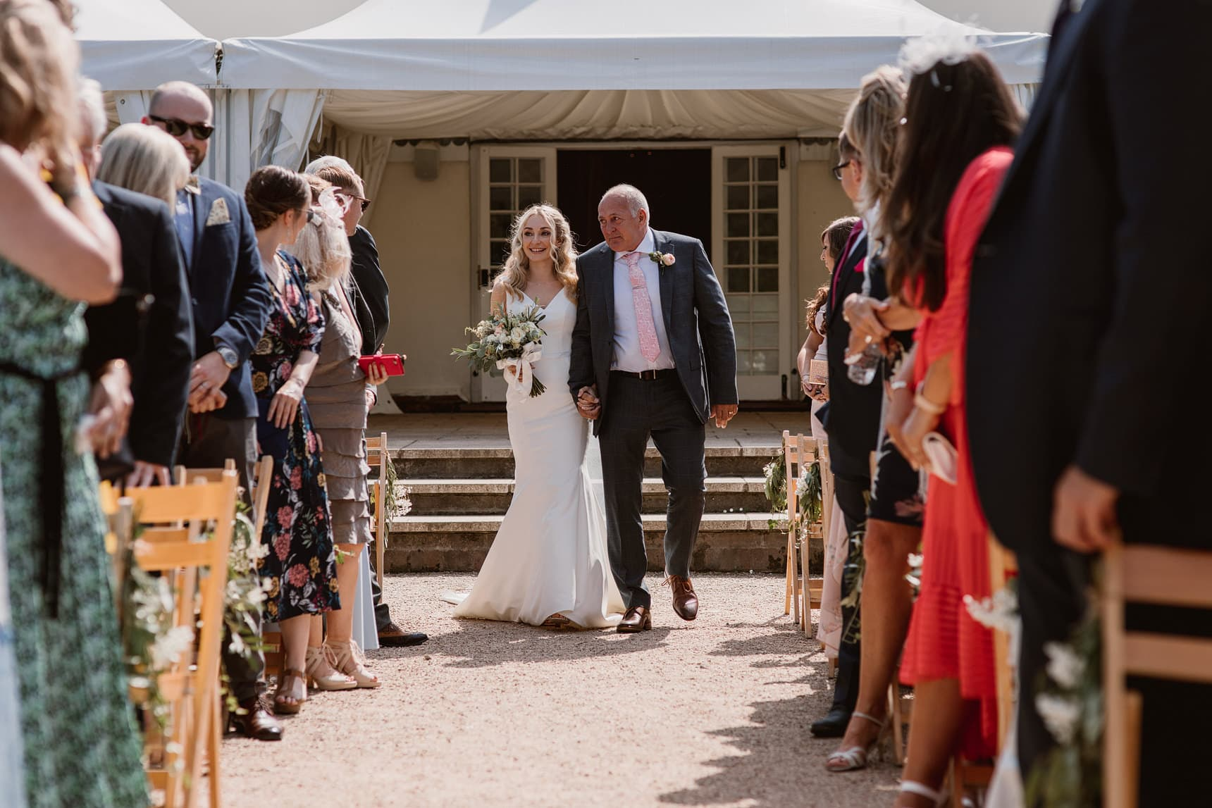 marks hall estate wedding