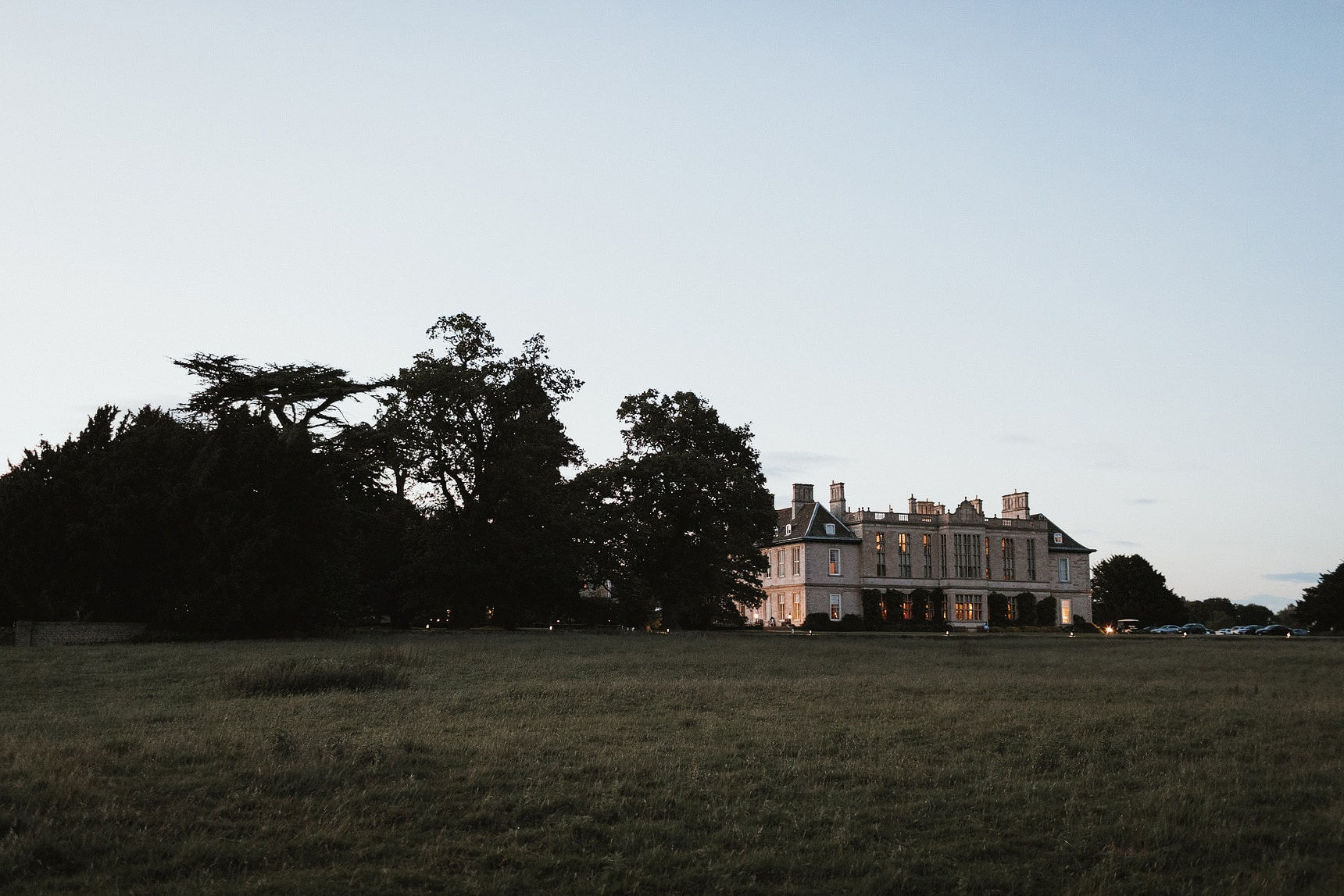 stapleford park wedding leicestershire