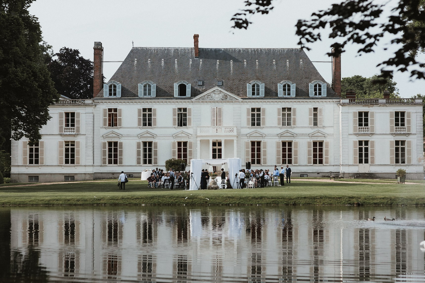 chateau barthelemy wedding photographer