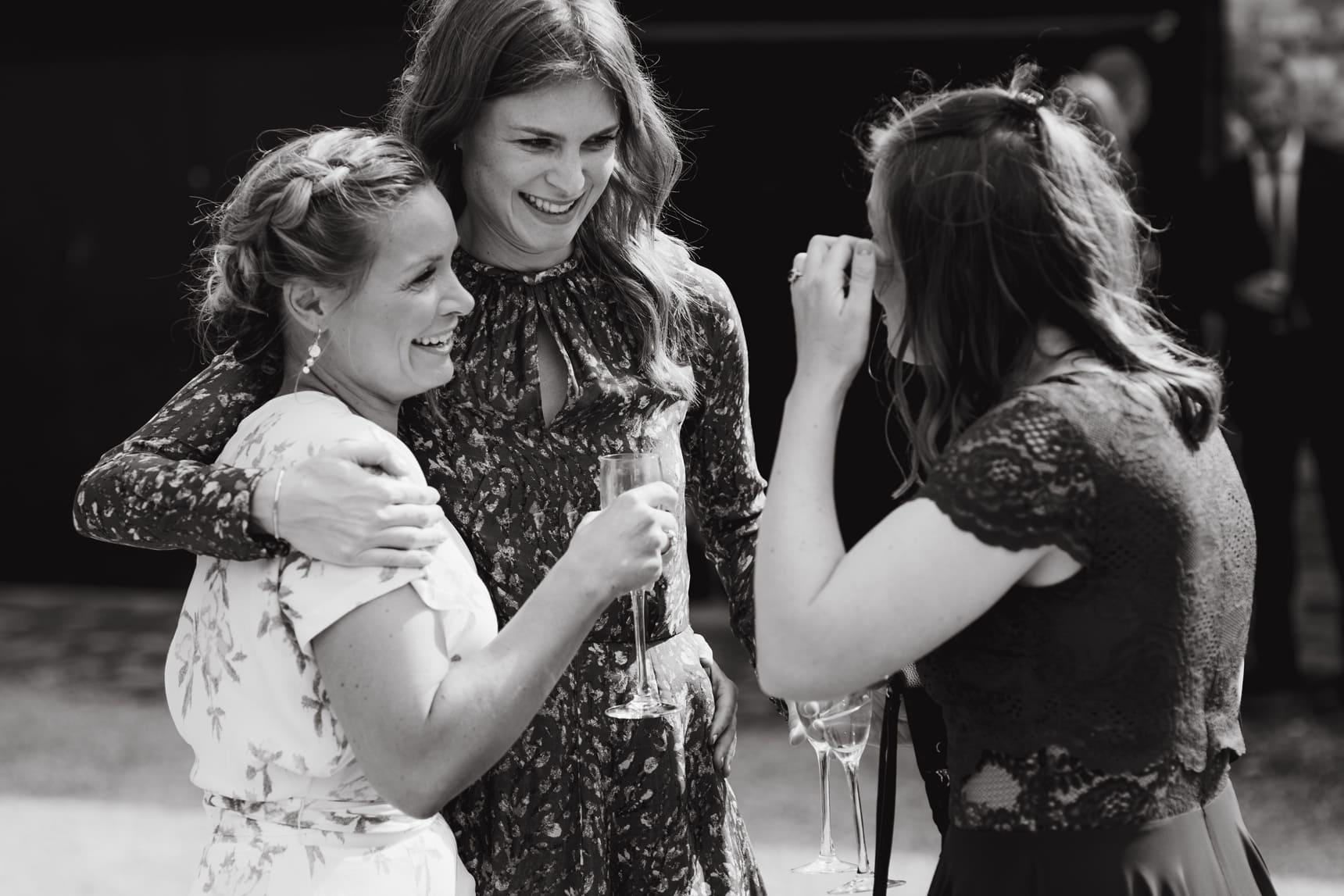 friends at weddings