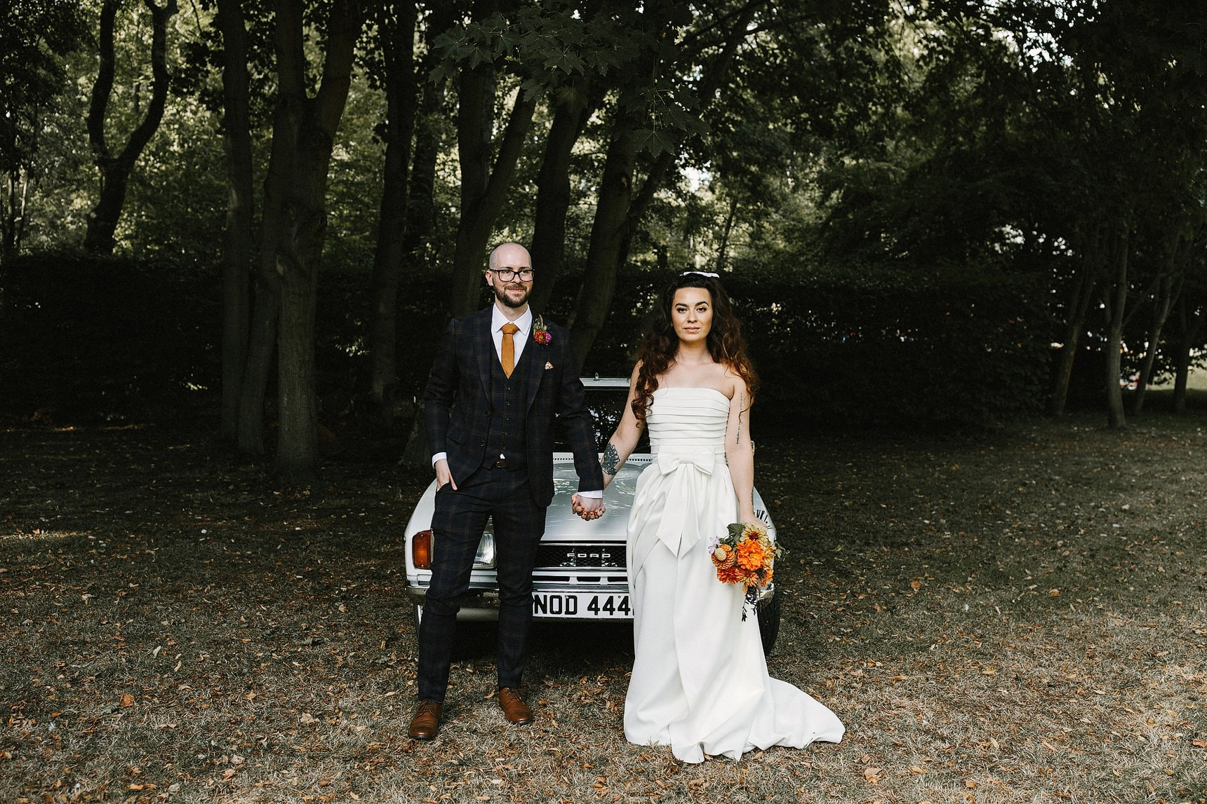 the gibberd garden wedding photographer