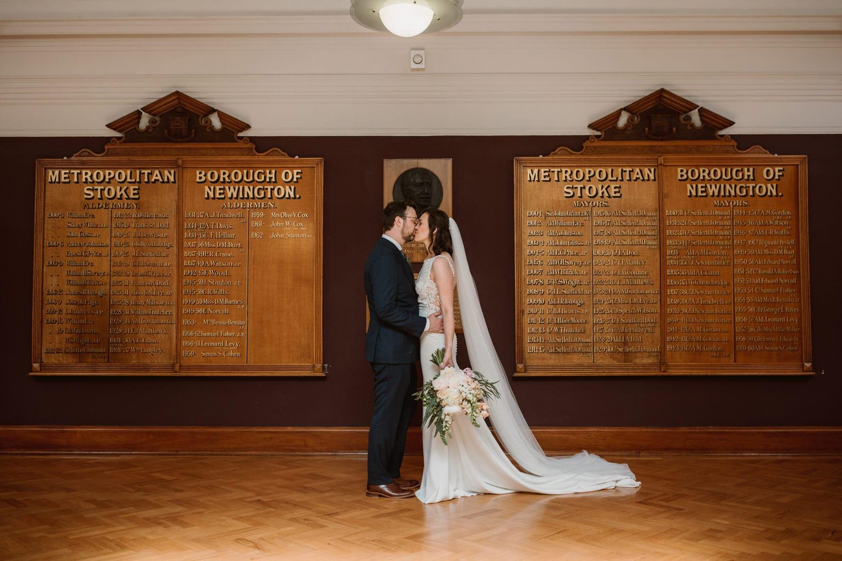 stoke newington town hall weddingA